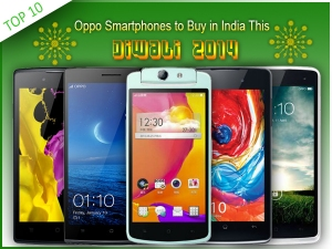 Top 10 Oppo Smartphones to Buy in India This Diwali 2014