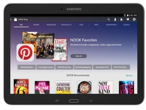 Samsung and Barnes & Noble Launches Galaxy Tab 4 Nook 10.1-inch