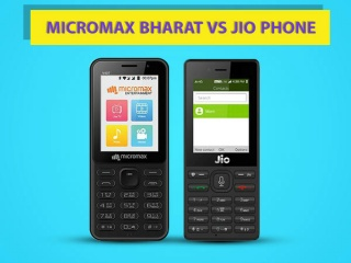Micromax Bharat 1 vs Reliance JioPhone: Which one do you prefer