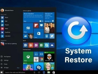 How to System Restore on Windows 10
