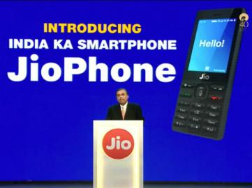 JioPhone launched with 4G VoLTE; pre-booking starts on August 24