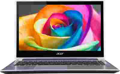 Acer Aspire V5-471P Laptop (3rd Gen Ci5/ 4GB/ 500GB/ Win8/ Touch) (NX.M3USI.005)