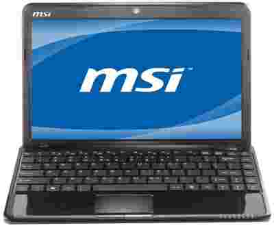 MSI U270 Netbook (APU Dual Core/ 2GB/ 320GB/ Win7 HB)