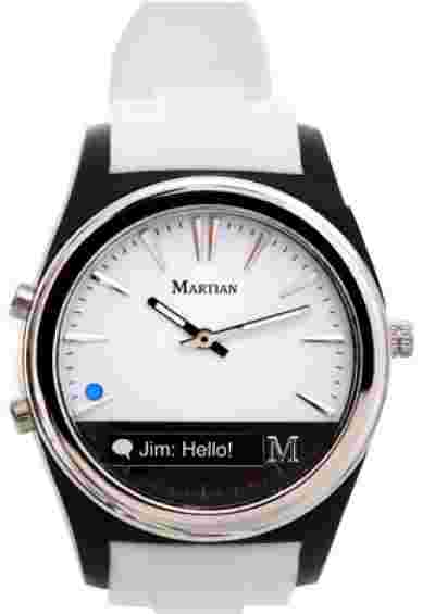 Martian MN200WBW Notifier Smart Watch  - For Women, Men