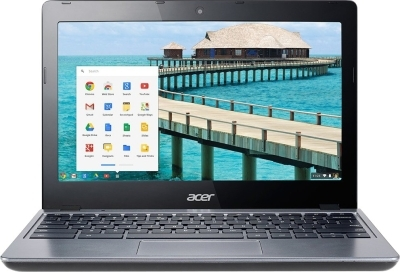 Acer C720 Chromebook Netbook (Celeron Dual Core 4th Gen/ 2GB/ 16GB/ Chrome OS) (NX.EESSI.002)
