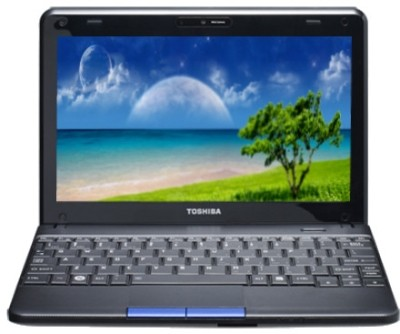 Toshiba NB510-A1110 Laptop (2nd Gen Atom Dual Core/ 2GB/ 320GB/ Win7 Starter)