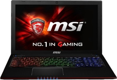 MSI Apache Pro GE Series GE60 2QE Core i7 - (8 GB DDR3/1 TB HDD/2 GB Graphics) Notebook