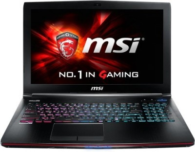 MSI GT72 2QD Dominator G GT Series GT72 2QD Dominator G Core i7 - (16 GB DDR3/1 TB HDD/Windows 8.1/6 GB Graphics) Notebook