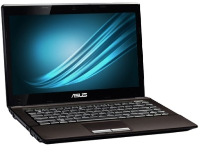 Asus X43TA-VX052D Laptop (APU Quad Core A6/ 2GB/ 500GB/ DOS)