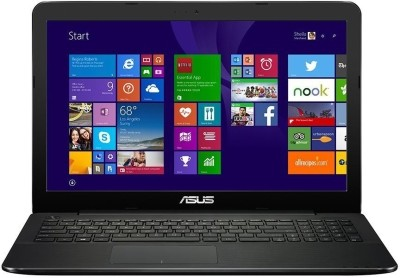 Asus X554LD X Series XX496H Core i5 (4th Gen) - (4 GB DDR3/1 TB HDD/Windows 8.1/2 GB Graphics) Notebook