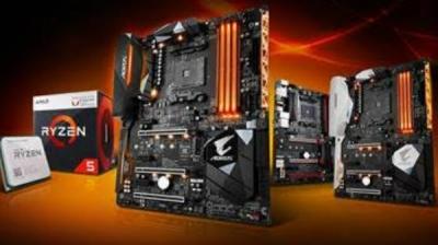 Gigabyte AM4 motherboards add support for AMD Ryzen desktop processors