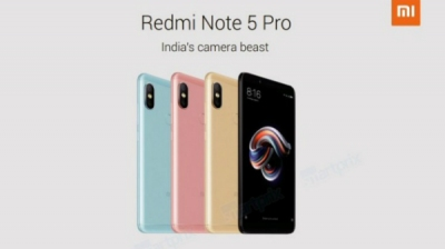 Xiaomi Redmi Note 5 Pro full specifications leaked ahead of its launch
