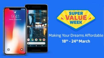 Flipkart's super value week offers no-cost EMI on smartphones