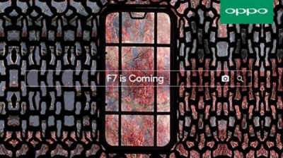 Oppo F7 March 26 launch date confirmed; teasers show display notch