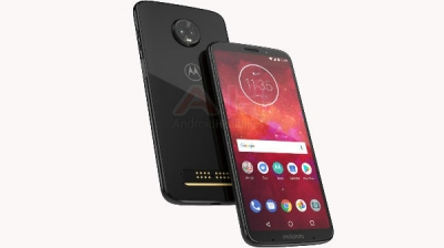 Moto Z3 Play leaked render shows glass back, dual rear cameras