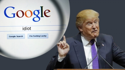 Donald Trump grabs the first spot in Google's Image search for 'Idiot'