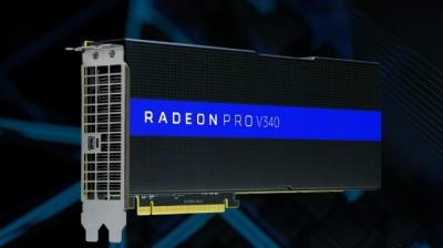 AMD Unveils Radeon Pro V340 Dual-GPU Graphics Card with 32 GB memory