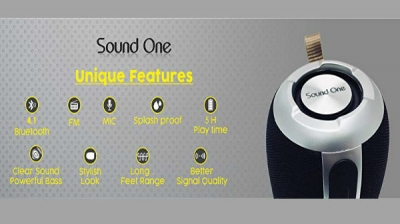 Sound One launches Boom water-resistant Bluetooth speaker at Rs 1,790
