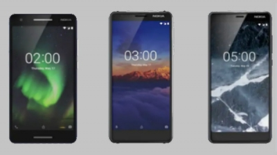 Nokia 2.1, Nokia 3.1 with 3GB RAM and Nokia 5.1 launched in India