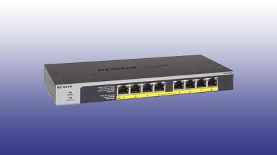 Netgear launches GS108LP Unmanaged PoE switch with 8 gigabit port