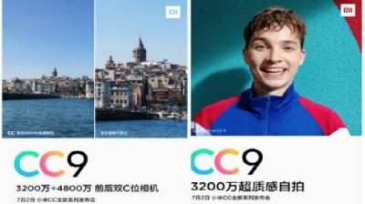 Xiaomi CC9 Confirmed To Feature 48MP Rear, 32MP Selfie Cameras