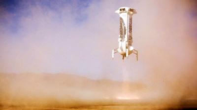 Jeff Bezos' Blue Origin Test Flight Successful