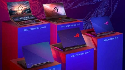 Asus ROG Laptops With Dual Display, GeForce RTX 2080 Launched