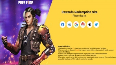 Free Fire Redeem Codes For April 20