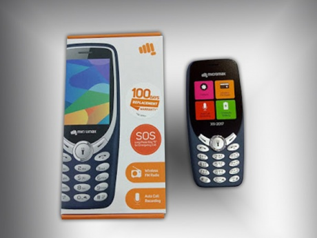 Micromax X1i, the Nokia 3310 clone is priced at Rs. 1,199