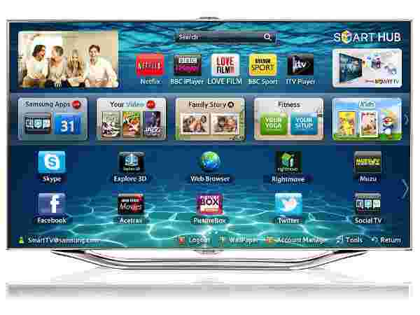 Samsung 65 inch Series 8 SMART 3D Full HD LED TV ES8000