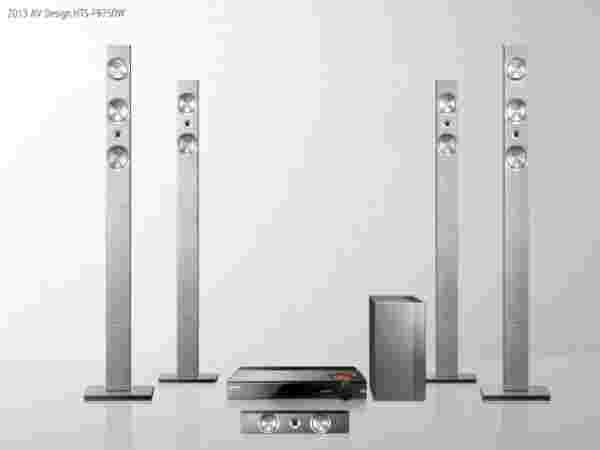 Samsung's 7.1 Channel Home Theater System (model HT-F9750W):