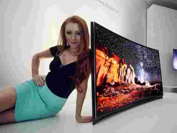 Samsung Curved OLED TV 2