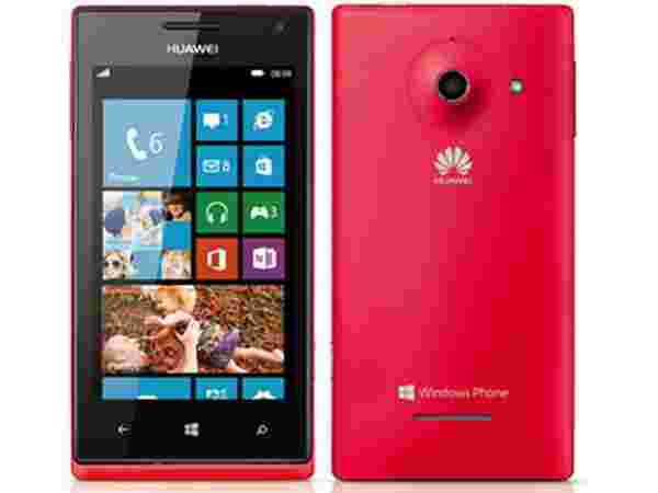 Huawei Ascend W1 Red