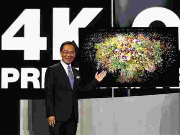 Panasonic's 56-inch 4K OLED TV