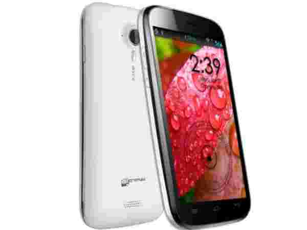 Micromax Canvas HD a116: