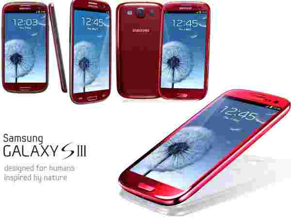 Samsung Galaxy S3 Red: