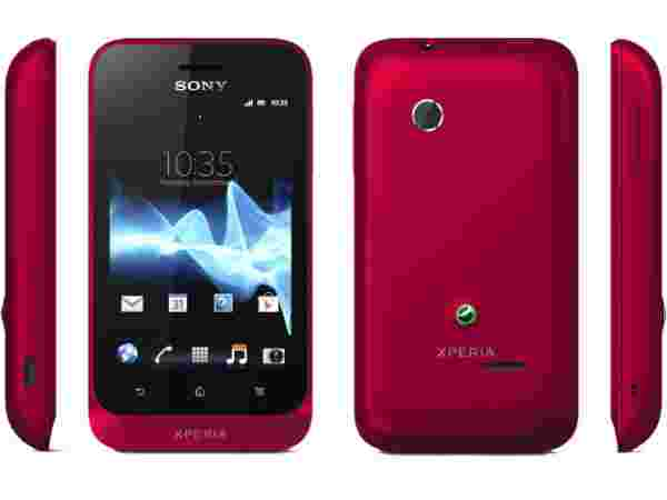 Sony Xperia Tipo Red: