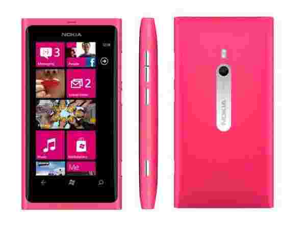Nokia Mobile Phones Lumia 800 Pink: