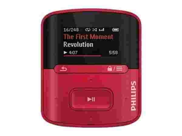 Philips GoGear RaGa 4 GB MP3 Player: