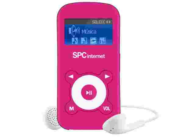 SPC Internet 821 2GB MP3 Player (Pink):