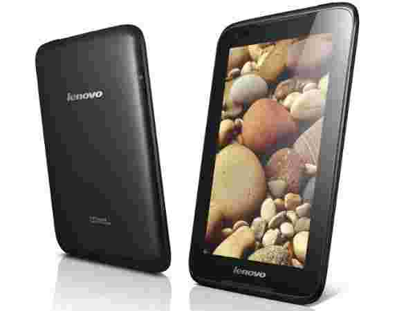Lenovo Android tablets - A1000, A3000 and S6000
