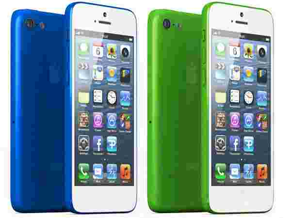 iPhone Blue Green