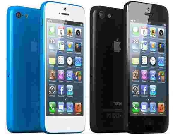 iPhone Light Blue Black