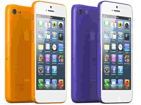 iPhone Orange and Purple