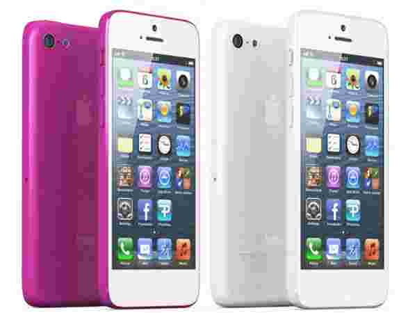 iPhone Pink and White