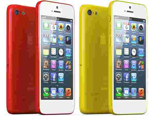 iPhone Red Yellow