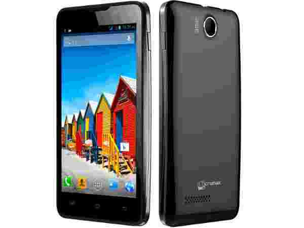 Micromax A72 Canvas Viva (Black):