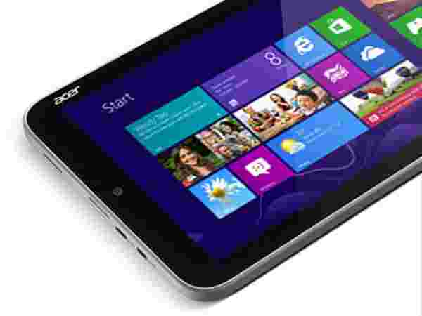 Windows 8 in 8 inch Tablet
