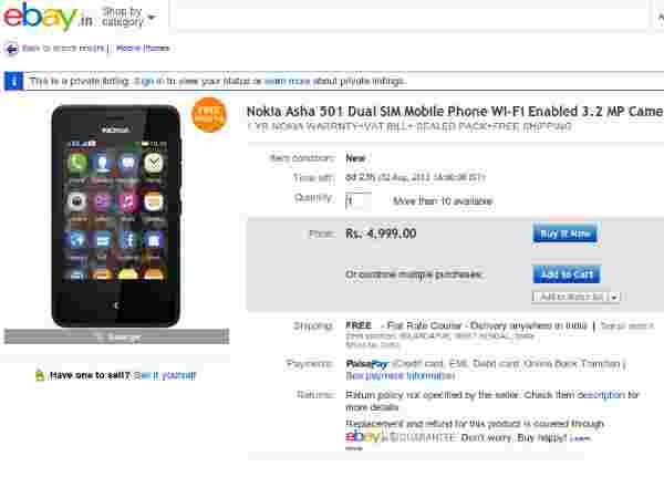Price At Rs 4,999