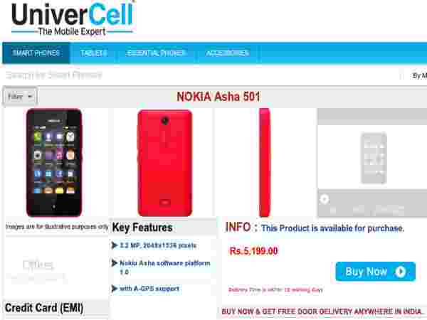 Price At Rs.5,199